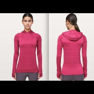 Lululemon Rest Less Hoodie Violet Red sz 6, 8 NWT